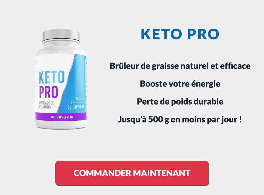 Les avantages des gélules Keto Pro